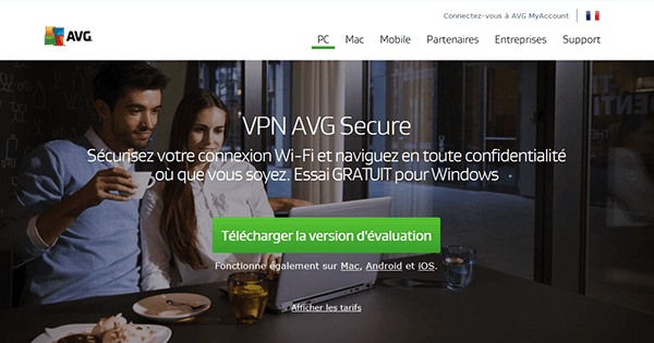 Avis AVG Secure VPN