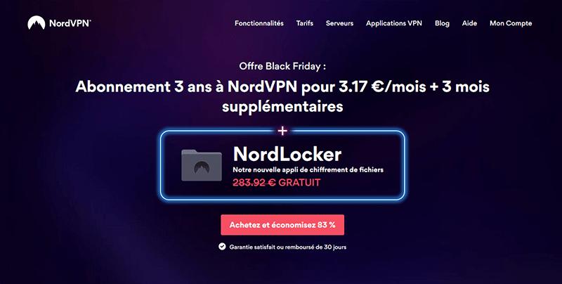 Promo Black Friday NordVPN