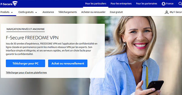 Avis F-Secure FREEDOME VPN